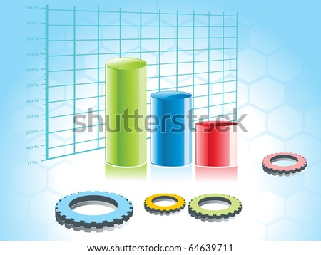 abstract business concept background, illustration