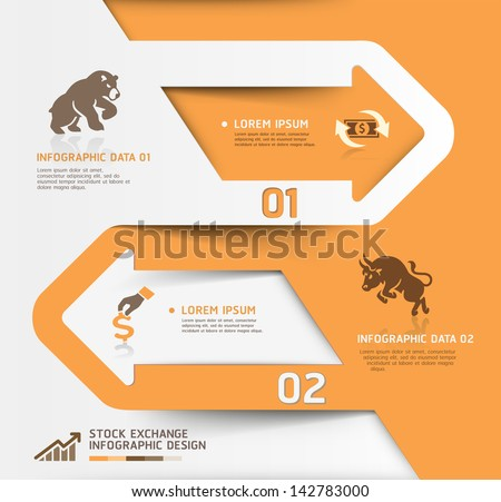 abstract business stock