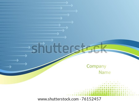 Abstract business vector background. EPS10