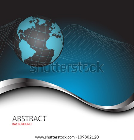 Abstract bussines background. Clip-art