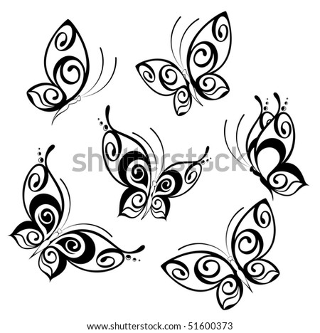 Abstract Butterfly. Beautiful vector illustration - stock vector