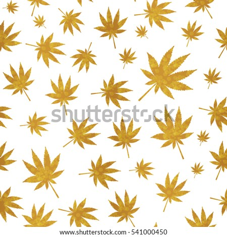 abstract cannabis seamless