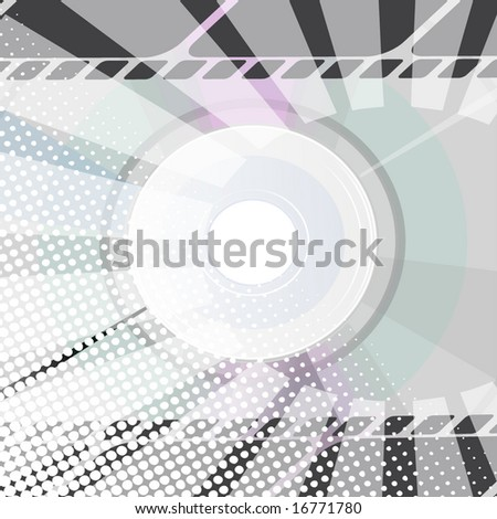 Abstract CD Background