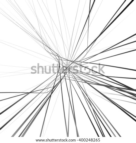 abstract chaotic lines pattern