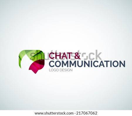 abstract chat and communication