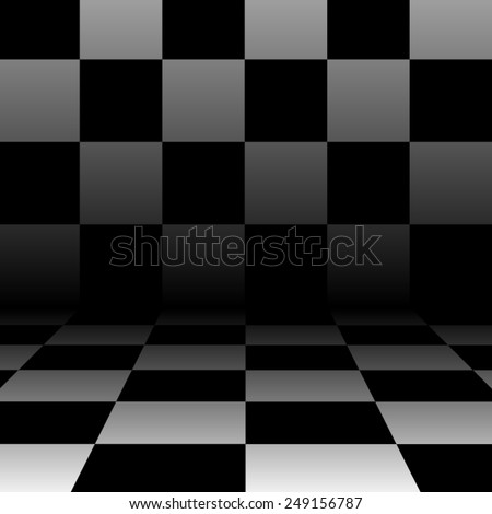 abstract chess background in