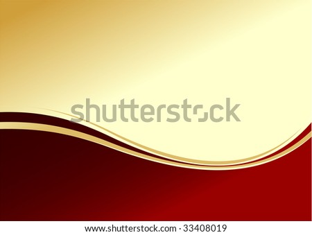 Abstract chocolate background. vector illustration. red and gold colors