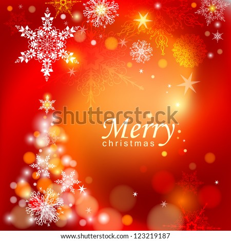 Abstract Christmas background. Vector eps 10.