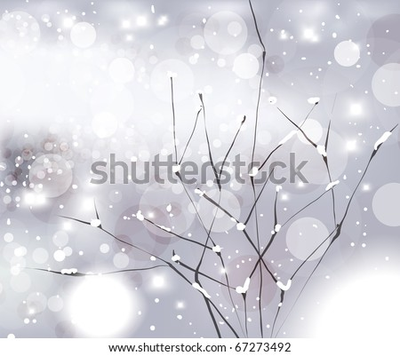 abstract christmas card with