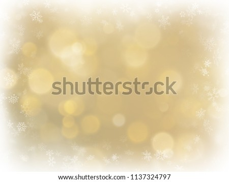 abstract christmas gold