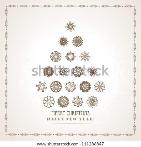 Abstract Christmas Tree #111286847