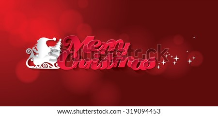 Abstract Christmas Vector Background #319094453