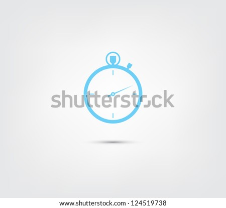 abstract chronometer icon