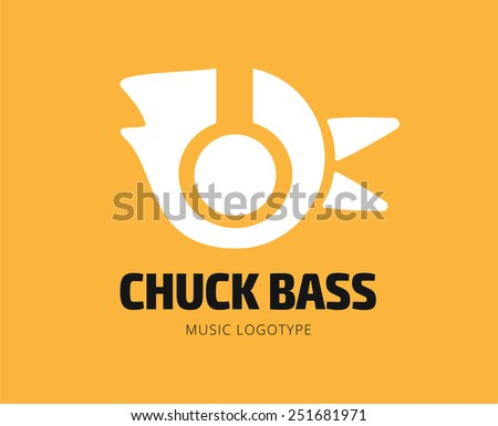 abstract chuck bass logo