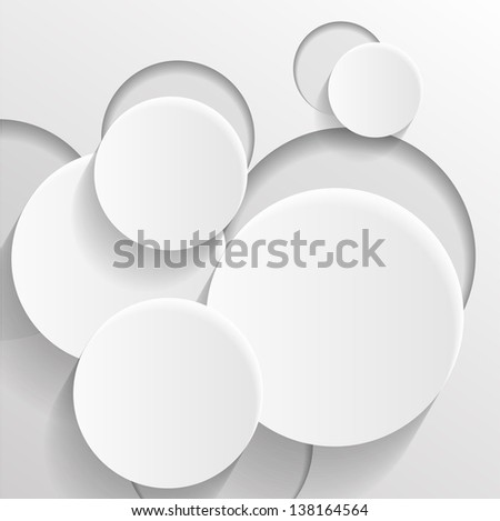 Abstract circle background.