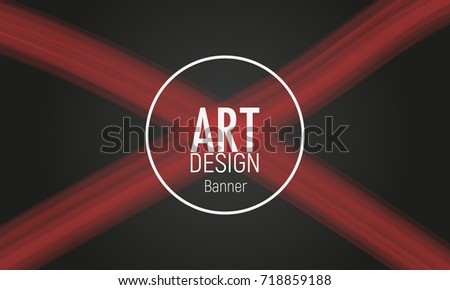 Abstract circle sale banner with red cross template. Background for design cards, posters, flyers, brochures, covers, advert banners. Vector illustration.
