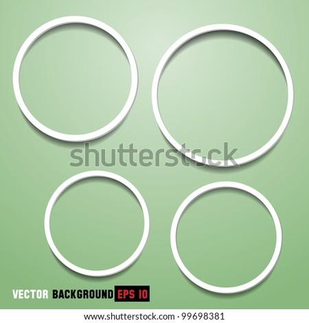 Abstract circles for web design.Vector eps10