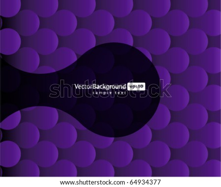 abstract circles pattern vector background