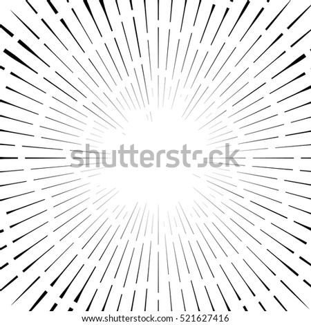 stock-vector-abstract-circular-element-radial-lines-shape-geometric-element