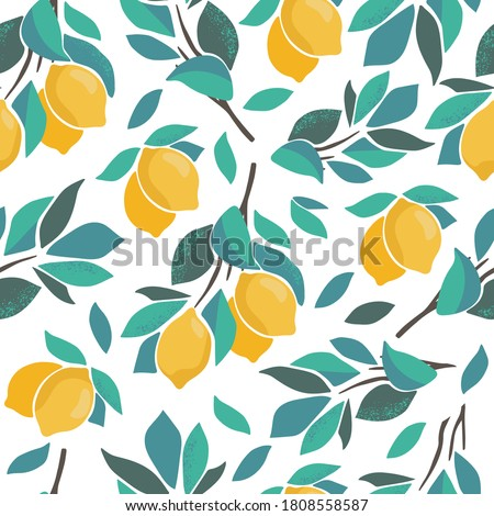abstract citrus seamless