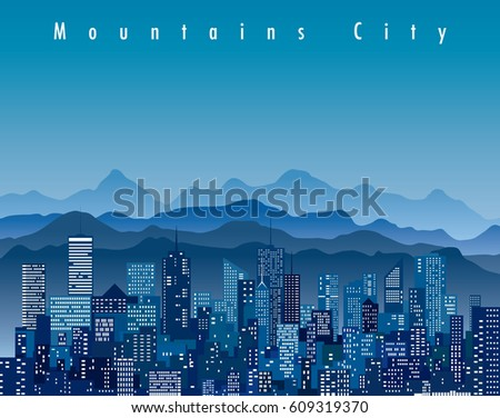 abstract city  cityscape