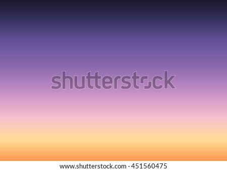 abstract clear twilight sky