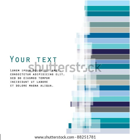 Abstract cold stripe background