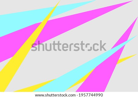 abstract collourfull background agresif triangle cool banner backdrop editable vector download  Stok fotoğraf ©
