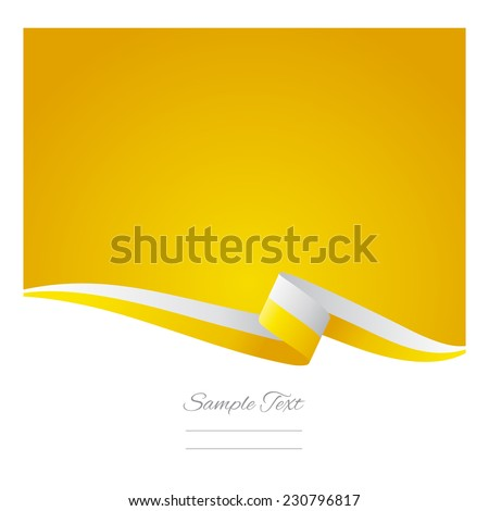 Abstract color background Vatican flag