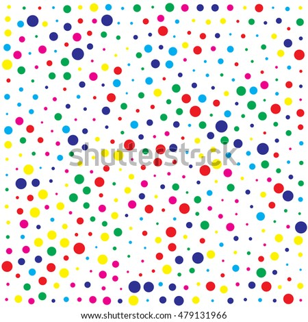 abstract color dot background