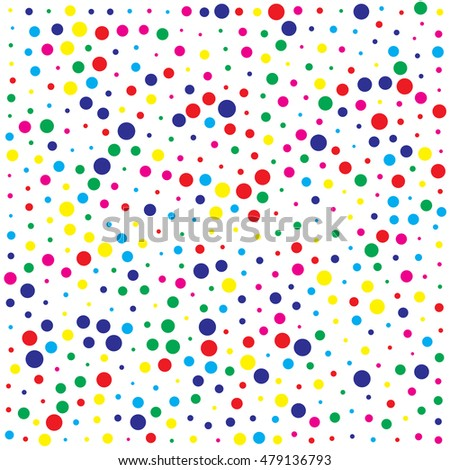 abstract color dot background pattern