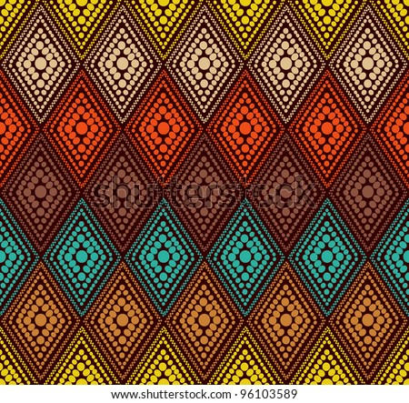 abstract color dot geometric pattern Colorful vector illustration