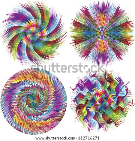 abstract color explosion conceptual symbol for creativity