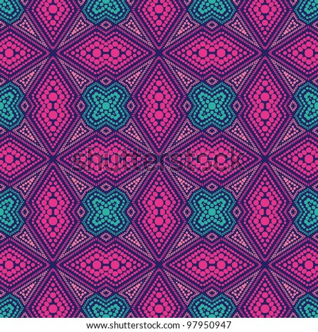 abstract color seamless geometric background. Colorful vector illustration