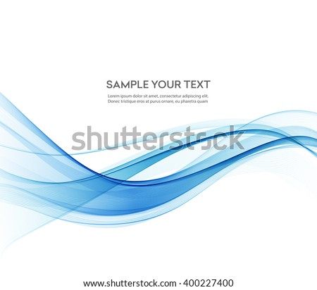 abstract color wave design