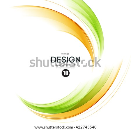 stock-vector-abstract-color-wave-design-element-orange-and-green-wave