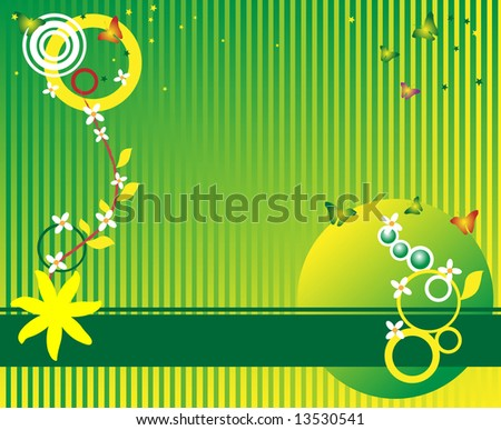 small stars clip art. stock vector : Abstract colored wallpaper with circle shapes, small stars,