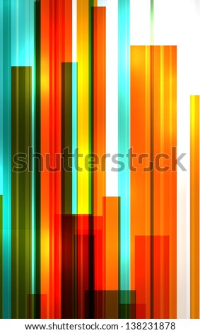 Abstract colorful background. EPS10 vector.