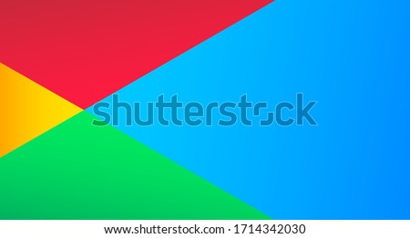 Abstract colorful background. High-tech background with juicy bright colors. Social media concept. Vector illustration