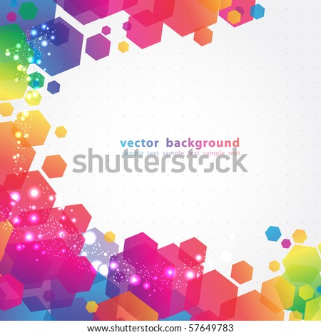 Abstract Colorful Background. Vector. #57649783