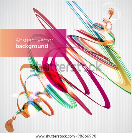 Abstract colorful background, vector.