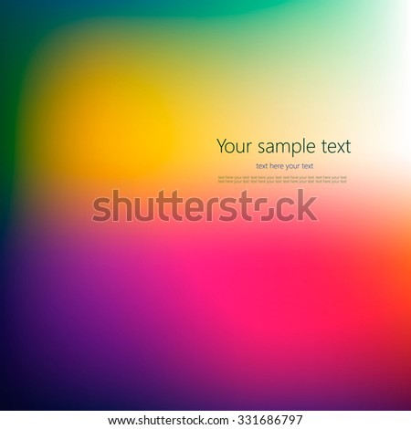 Abstract colorful background with place for your text. #331686797