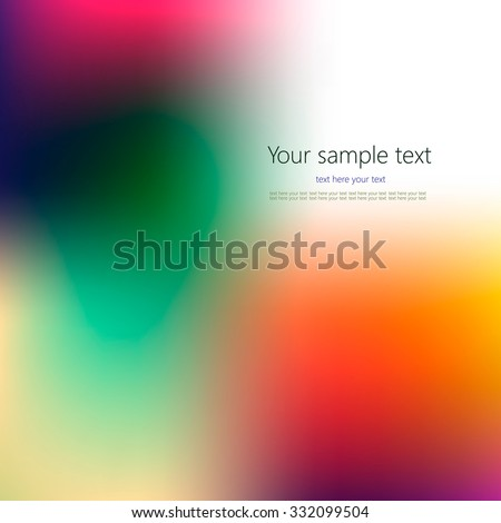 Abstract colorful background with place for your text. #332099504