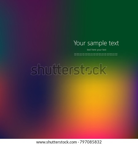 Abstract colorful background with place for your text. #797085832