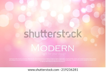 abstract colorful bokeh light