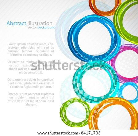 Stock Photo Abstract colorful circle