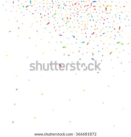 abstract colorful confetti