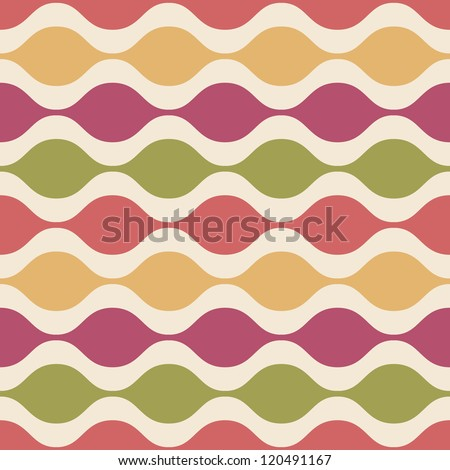 Abstract Colorful decorative seamless pattern. Vector