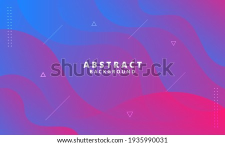 Abstract Colorful geometric background. Modern background design. Liquid color. Fluid shapes composition. Fit for presentation design. website, basis for banners, wallpapers, brochure, posters