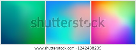 abstract colorful gradient mesh